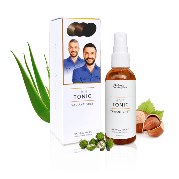 Green Angelica Hair Tonic Varian Grey with Box